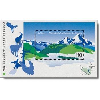 Nationalpark Berchtesgaden, Block 47 postfrisch, Katalog-Nr. 2046, Bundesrepublik