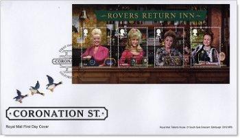 Kultserie: Coronation Street - Ersttagsbrief, Großbritannien