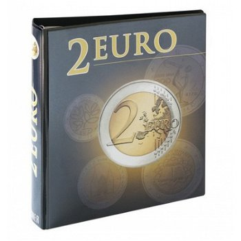 Lindner Vordruckalbum 2-Euro-Münzen, alle Euro-Länder (chronologisch ab Belgien 2012 bis Deutschland