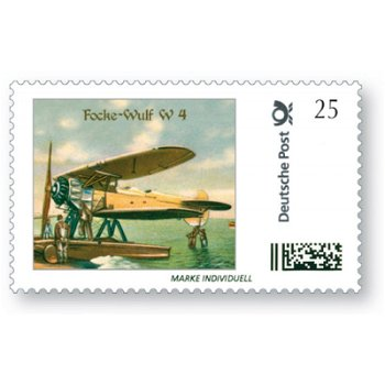 Flugzeuge, Focke-Wulf W4 - Marke Individuell, postfrisch