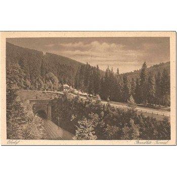 6055 Oberhof / Thuringia - Postcard & quot; Tunnel & quot;