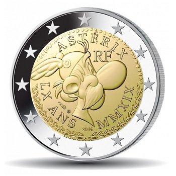 60 Jahre Asterix, 2 Euro Münze 2019, Frankreich