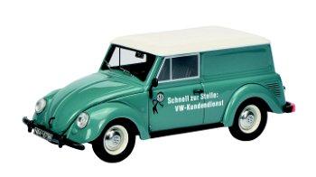 Modellauto:VW Kleinlieferwagen - VW-Kundendienst -, taubenblau(Schuco/PRO.R43, 1:43)