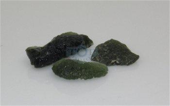 Meteoritengestein - Moldavit -
