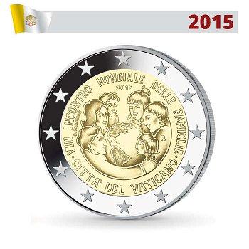 2-Euro-Münze 2015, Weltfamilientreffen Philadelphia, Vatikan
