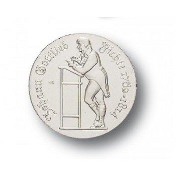 10-Mark-Münze 1990, 175 Todestag Johann Gottlieb Fichte, DDR