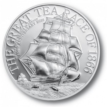 The Great Tea Race of 1866, Silbermünze, Cook Inseln
