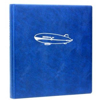 Zeppelin NT - LINDNER Motivringbinder, blau