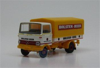 Modell-LKW:Mercedes-Benz LP 608 - Holsten-Bier -(Brekina, 1:87)