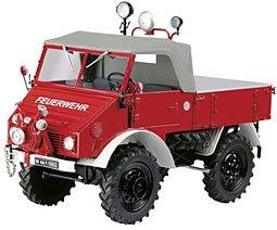 "Modell-LKW:MB Unimog 401 ""Feuerwehr""(Schuco, 1:18)"