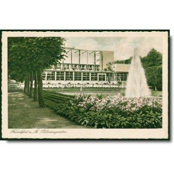"6000 Frankfurt - Postkarte ""Palmengarten"""
