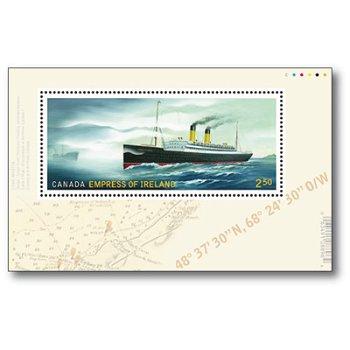 Schiffe - Briefmarken-Block postfrisch, Canada