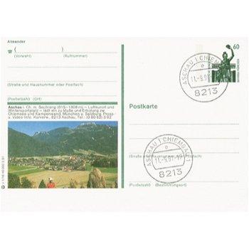 8213 Aschau - picture postcard