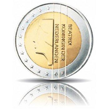 2 Euro Kursmünze 2000, Niederlande