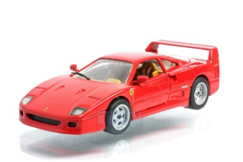 Modellauto:Ferrari F 40 von 1987(Mattel, 1:43)