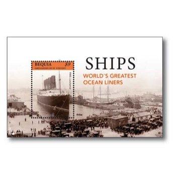 Schiffe - Briefmarken-Block postfrisch, St. Vincent
