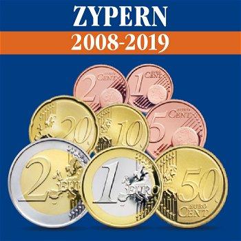 Zypern – Kursmünzensatz alle Jahrgänge 2008-2019
