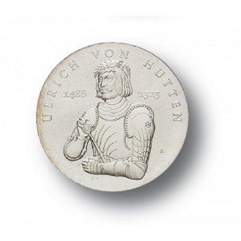 10-Mark-Münze 1988, 500. Geburtstag Ulrich von Hutten, DDR