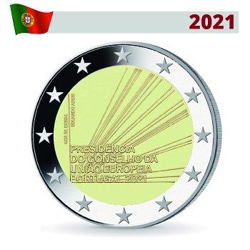 EU-Präsidentschaft - 2 Euro Gedenkmünze, Portugal