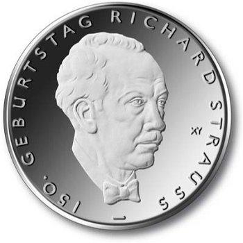 Richard Strauss, 10-Euro-Gedenkmünze 2014, Stempelglanz
