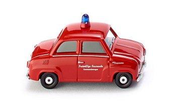 Modellauto:Glas GoggomobilFreiwillige Feuerwehr Kommandowagen(Wiking, 1:87)