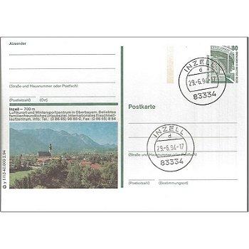 5221 Inzell - Bilpostkarte