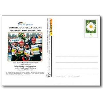 Winterspiele 2008 - Ganzsache postfrisch, Katalog-Nr. 166, Deutschland