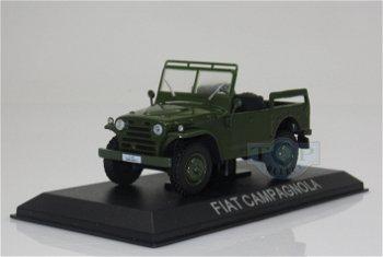 Modellauto:Fiat Campagnola, grün(IXO, 1:43)