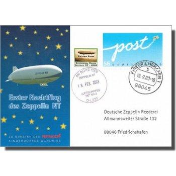 Zeppelin NT Post - Erster Nachtflug des Zeppelin NT, Deutschland