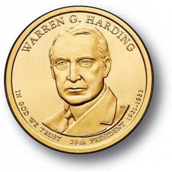 Warren G. Harding, Präsidenten Dollar 2014, USA