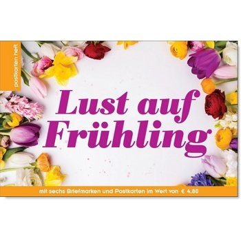 Frühling - Briefmarken- und Postkartenheft postfrisch, Österreich