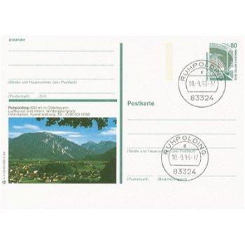 8222 Ruhpoldingen - Bildpostkarte