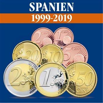 Spanien - Kursmünzensätze alle Jahrgänge 1999-2019