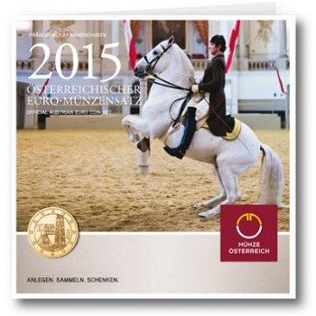 Euro-Kursmünzensatz 2015 - Österreich, Stempelglanz