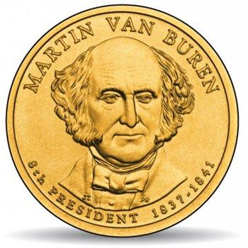 Martin van Buren, Präsidentendollar 2008, USA
