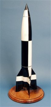 Holz-Modell:A4 Rakete(Pilot´s Staion, 1:24)