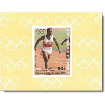 Olympische Sommerspiele 1984 - 4 Luxusblocks postfrisch, Katalog-Nr. 900-903, Niger
