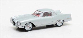 Modellauto:Nash Rambler Palm Beach von Pininfarina von 1956, silber(Matrix, 1:43)