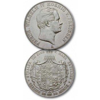 Der Champagnertaler, Silbermünze aus dem Königreich Preußen