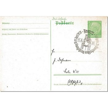 2800 Bremen - postal stationery & quot; General Postage Stamp Exhibition & quot;