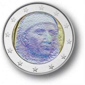 2 Euro Hologramm-Münze Giovanni Boccaccio, Italien