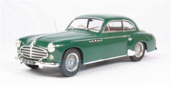 Modellauto:Delahaye 235 Coach von 1952, grün(IXO Models, 1:43)