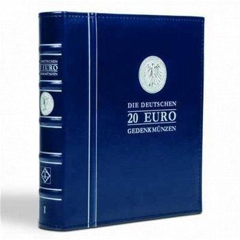 Vordruckalbum Optima, Band 1, für 20-Euro-Münzen ab 2016, inkl. Schutzkassette, Leuchtturm 347996