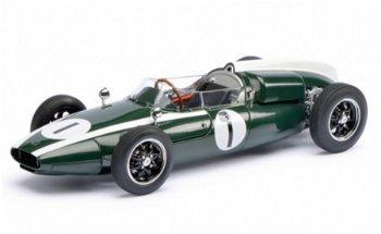 Modellauto:Cooper T53 mit der # 1- World Champion 1960 -(Schuco/Exklusiv, 1:18)