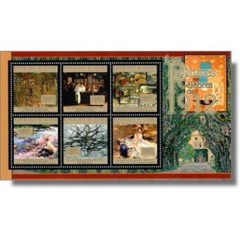 Gemälde 1912 - Briefmarkenblock postfrisch, Katalog-Nr. 9486-9491, Guinea