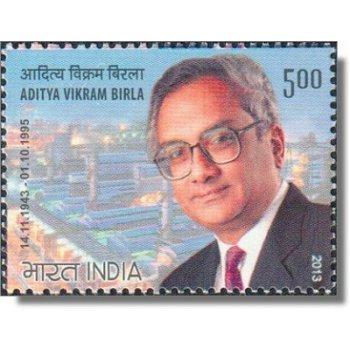 Aditya Vikram Birla - Briefmarke postfrisch, Katalog-Nr. 2699, Indien