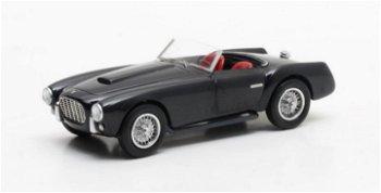 Modellauto:Siata 208 S Motto Spider von 1953, dunkelblau(Matrix, 1:43)