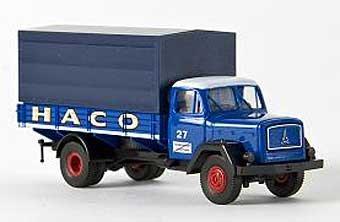 "Modell-LKW:Magirus-Deutz 125 Eckhauber PP ""HACO""(Brekina, 1:87)"