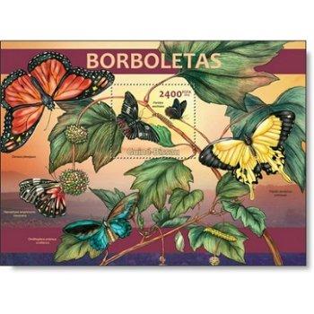 Schmetterlinge - Briefmarken-Block postfrisch, Katalog-Nr. 6565, Guinea-Bissau