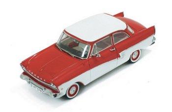 Modellauto:Ford Taunus 17 M von 1957, rot-weiß(Premium X, 1:43)